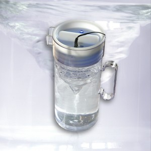 revitaliser l'eau du robinet
