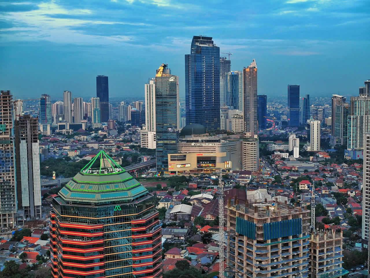 Jakarta en Indonésie
